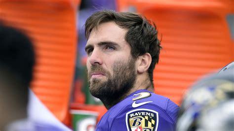 Joe Flacco not worried about Ravens drafting QB