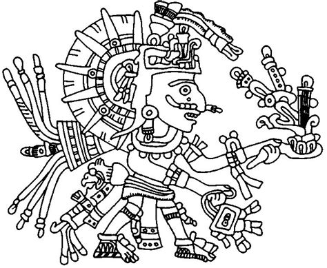 High Quality Images For Aztec Art Coloring Pages Iphonehdwallhd Tk Aztec Coloring Pages
