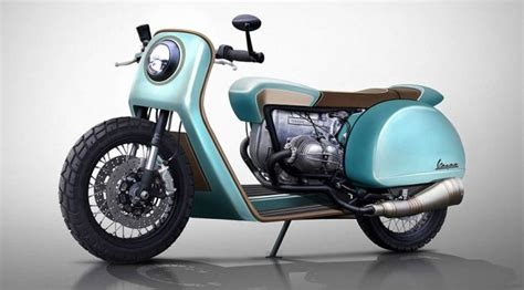 Someone Reimagined Vespa As Motorcycles And The Results
