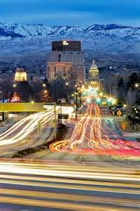 Beautiful Boise Idaho Winter