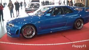 Nissan Skyline Fast And Furious : paul walkers nissan skyline gt r r34 fast furious 4 on display youtube ~ Medecine-chirurgie-esthetiques.com Avis de Voitures