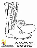 Cowboy Coloring Boots Boot Pages Western Cowgirl Drawing Pencil Hats Printable Country Print Saddle Sketch Tattoo Drawings Hat Easy Sketchite sketch template