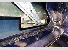 Wartung der Fensterheber und Gleiter tauschen [ 3er BMW