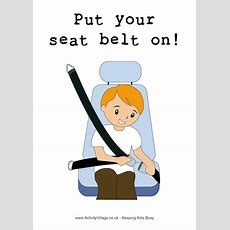 Put Your Seat Belt On! Poster