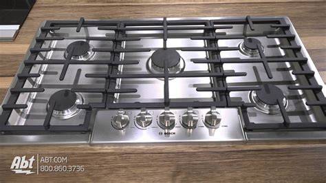 bosch benchmark series  stainless steel gas cooktop