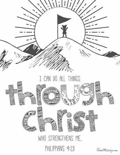 Bible Verses Printables Pages Christian Pdf Teach