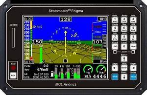 Stratomaster Mgl Avionics  Instruments  U0026 Efis Avionique Ulm  Compas  Horizon  Surveillance Moteur