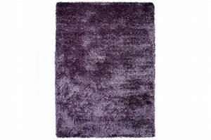 Tapis 160x230 Pas Cher : tapis poils shaggy tendance lila 160x230 cm tapis design ~ Teatrodelosmanantiales.com Idées de Décoration