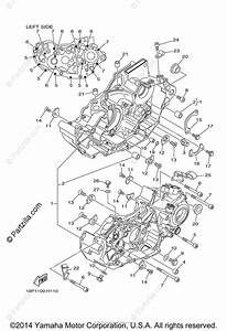 Yamaha Atv 2014 Oem Parts Diagram For Crankcase