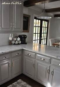 Best ideas about gray kitchen cabinets on