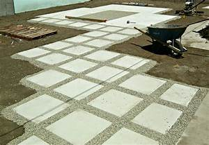 exterior how to lay pavers with concrete floor and gravel With how to sand concrete floor