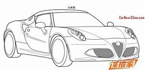 patent applied alfa romeo 4c might come to china With alfa romeo drawings