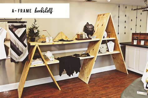 Diy A-frame Bookshelf & Console Table Carlyle Sofa Bed Review Modern Set Designs Prices Sectional With Storage Drawers Chelsea Corner Suite Yellow Velvet Small Es Configurable Embly Modular Sofas For Vatar 2017