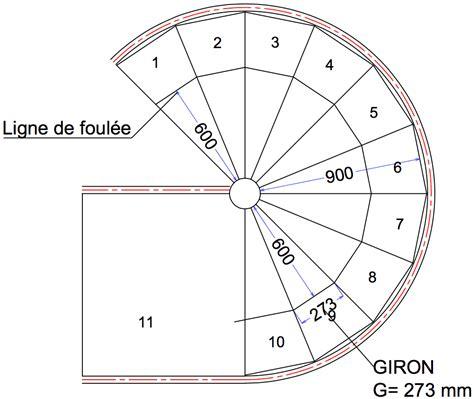 Hauteur Marche Escalier Norme Erp by D 233 Terminer Le Giron Pour Un Escalier Tournant Ehi