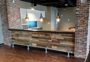 Recycled pallet wood wall paneling - Sustainable Lumber