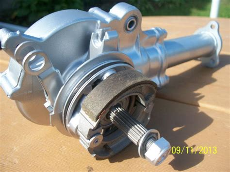 Buy Yamaha Qt50 Final Drive Differential Rear Brake Drive