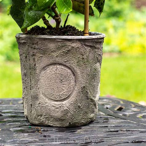 Cheap Flower Pots Created By Dressing Up Nursery Planters