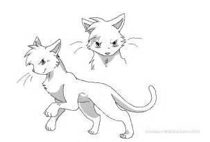warrior cat drawings warrior cat template by reaper neko on deviantart