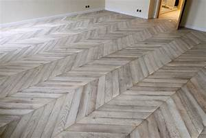 Atelier des granges french parquet parquet chevron in for Chevron parquet flooring