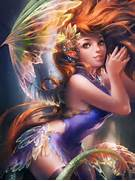 Cute Face Ifx Fairy By Sakimichan On Deviantart More Beautiful Fairies Pretty