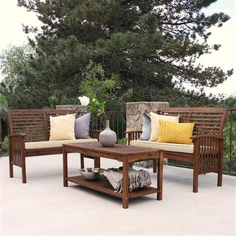 we furniture solid acacia wood patio