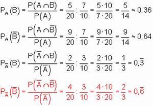 Wahrscheinlichkeit Berechnen : bedingte wahrscheinlichkeit mathe brinkmann ~ Themetempest.com Abrechnung