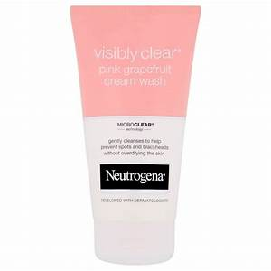 Neutrogena Visibly Clear Waschgel : neutrogena visibly clear pink grapefruit cream wash 150ml free shipping lookfantastic ~ Avissmed.com Haus und Dekorationen