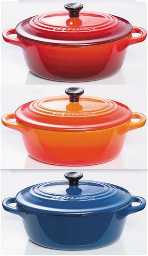 plats cuisin駸 vente en ligne set 3 mini cocottes le creuset cassolettes cuisin 39 store