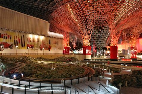 Strangest Theme Park, Abu Dhabi, UAE, Ferrari World inside ...