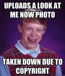 The gallery for --> Bad Luck Brian Now And Then