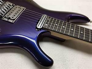 Blue Swirl Sims Guitar Refinishing