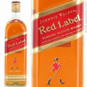 Johnnie Walker Red Label Blended Scotch Whisky, Scotland ...