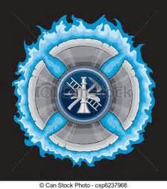 Firefighter Cross Clip Art