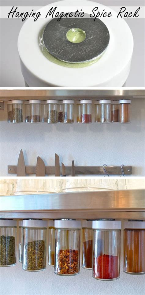 magnetic kitchen storage diy kitchen storage ideas for small spaces magnetic 3938