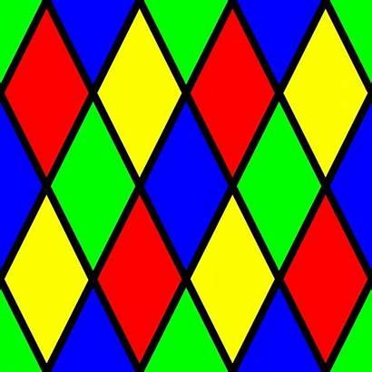 Pattern Geometric Colorful Tessellation Patterns Cool Diamonds
