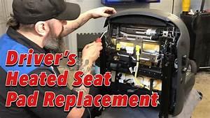 Repair Monday - Driver U0026 39 S Heated Seat Pad Replacement