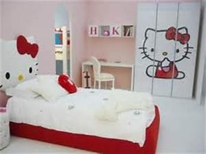 Chambre Hello Kitty : collection des chambres coucher en rose hello kitty ~ Voncanada.com Idées de Décoration