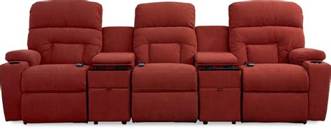 la z boy spectator 5 pc reclining home theater with