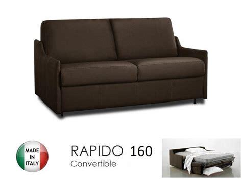 canape lit 4 places convertible ouverture rapido 160