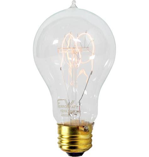 40w loop tungsten filament bulb rejuvenation
