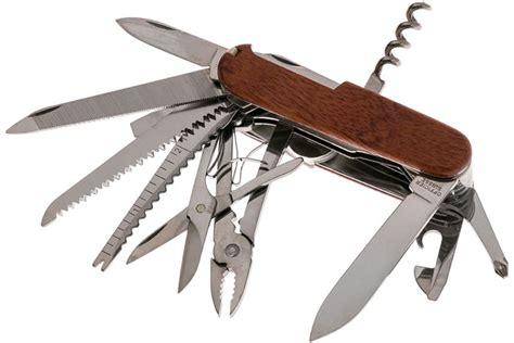 schweizer taschenmesser holz victorinox swissch schweizer taschenmesser holz g 252 nstiger shoppen bei knivesandtools de