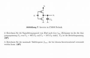 Auflagerreaktion Berechnen : elektrotechnik inverter in cmos technik ~ Themetempest.com Abrechnung