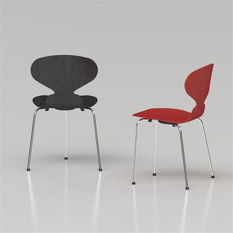 Arne Jacobsen Ameise by 3d Arne Jacobsen Ant Chair High Quality 3d Models
