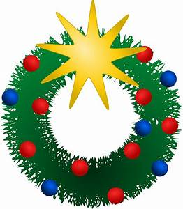 Clipart - Festive Wreath