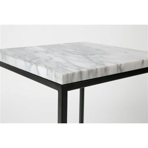 table d appoint carr 233 e marble power par drawer fr