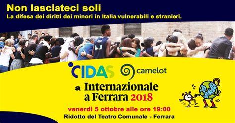 camelot  cidas al festival  internazionale  ferrara