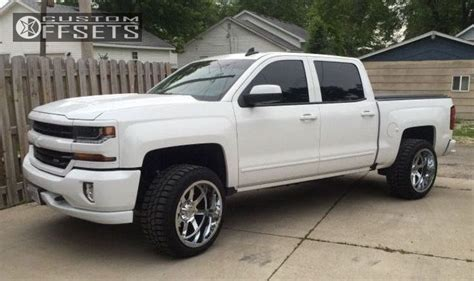 leveling kitstock wheelsoversized tires pics chevy 1500 chevrolet leveling kit gear alloy big offset 2015