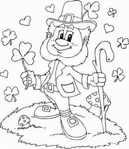 free st patrick s day coloring pages - leprechaun coloring page coloring page love