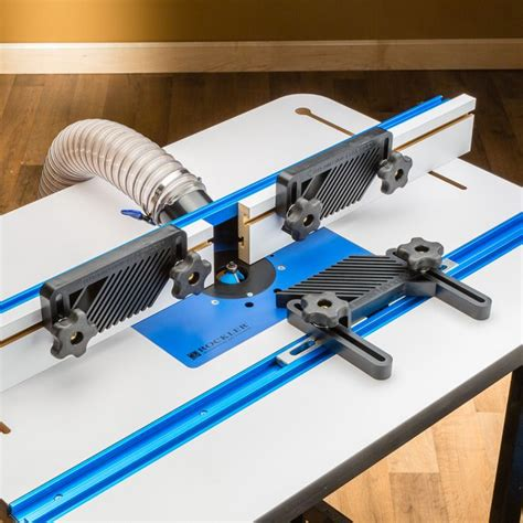 rockler  piece router table accessory kit