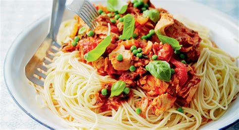 recette pates facile carbonara thon viande gourmand